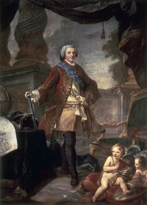 Дофин Людовик Французский (сын Людовика XV). Шарль-Жозеф Натуар