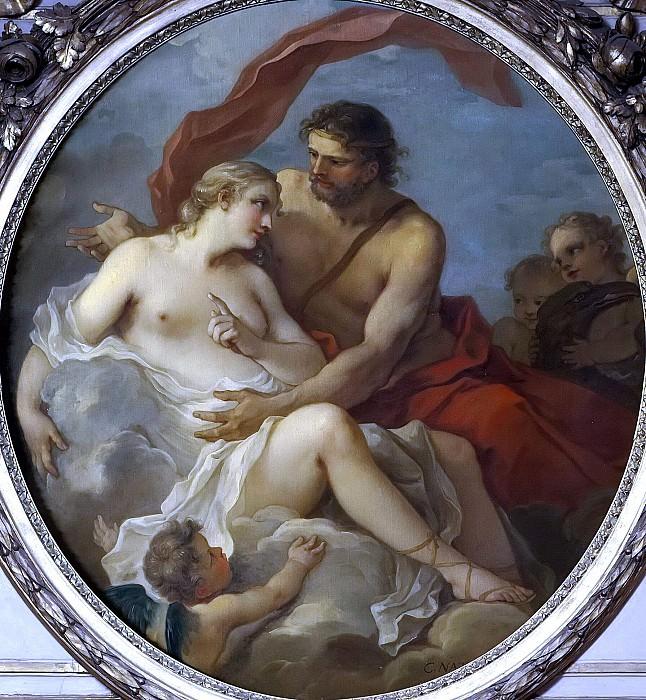 Юпитер и Каллисто. Шарль-Жозеф Натуар