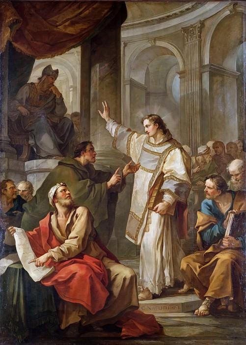 Проповедь святого Стефана. Шарль-Жозеф Натуар