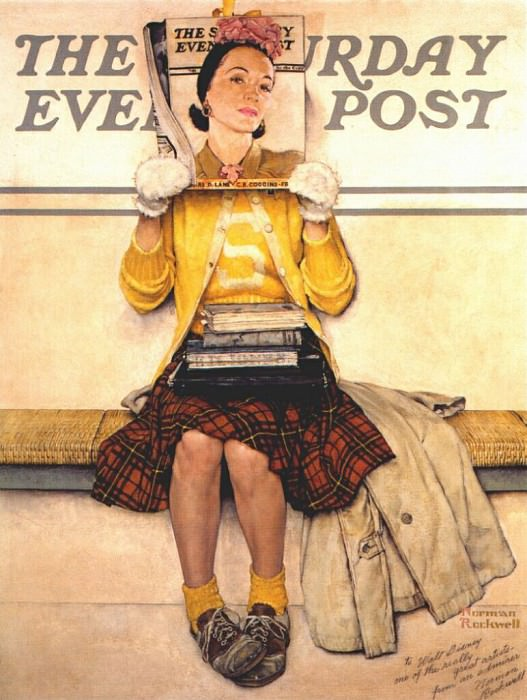double take 1941. Rockwell Norman