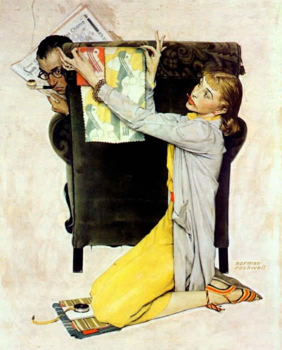 decorator 1940. Rockwell Norman