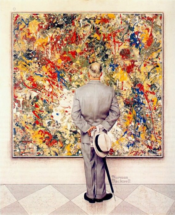 connoisseur 1962. Rockwell Norman