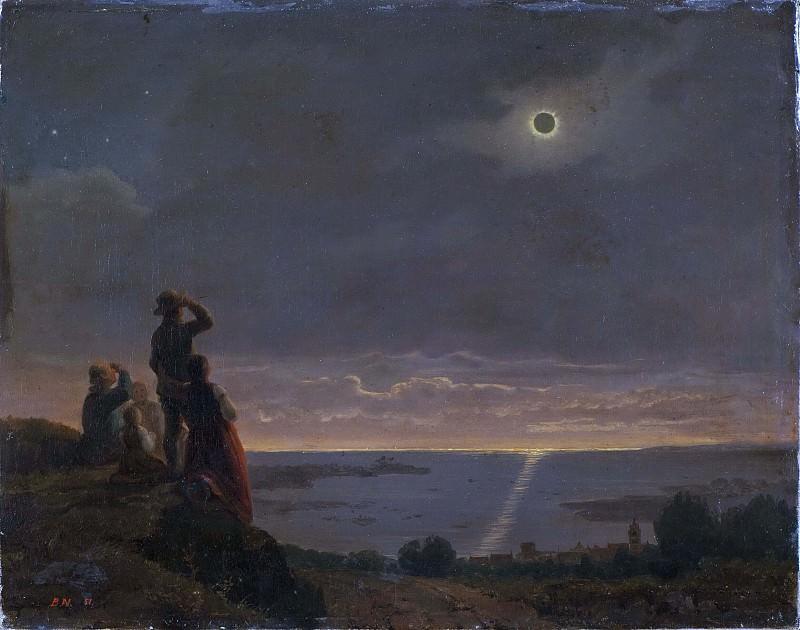 Солнечное затмение. Бенгт Норденберг
