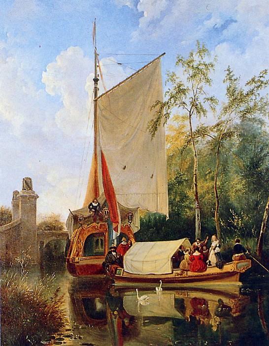 The boat trip. Wijnandus Nuyen