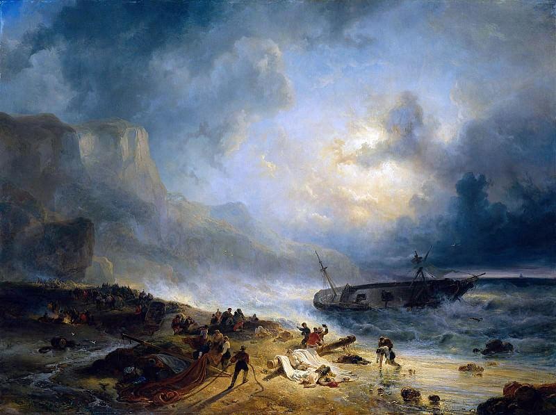 Shipwreck. Wijnandus Nuyen