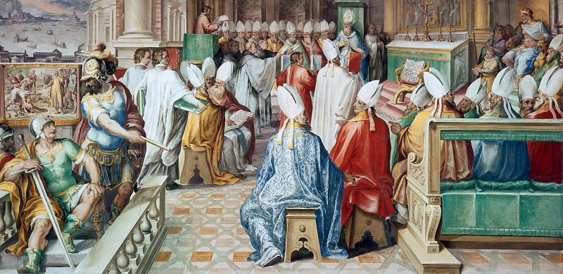 Second Council of Constantinople. Cesare Nebbia