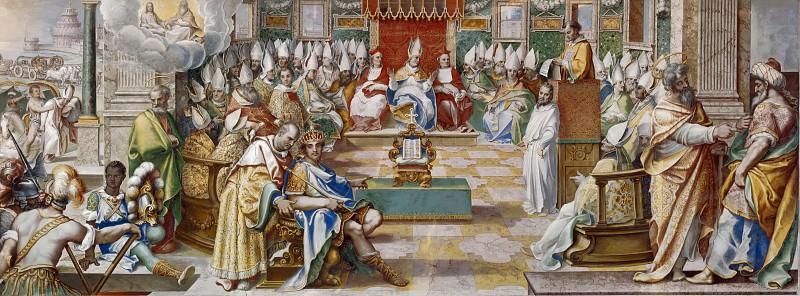 Council of Nicaea. Cesare Nebbia