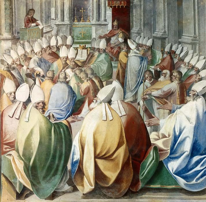 Четвертый Константинопольский Собор. Чезаре Неббиа
