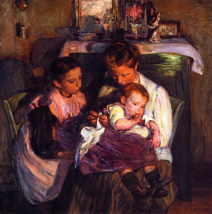 Счастливые дни, 1905. Элизабет Норс
