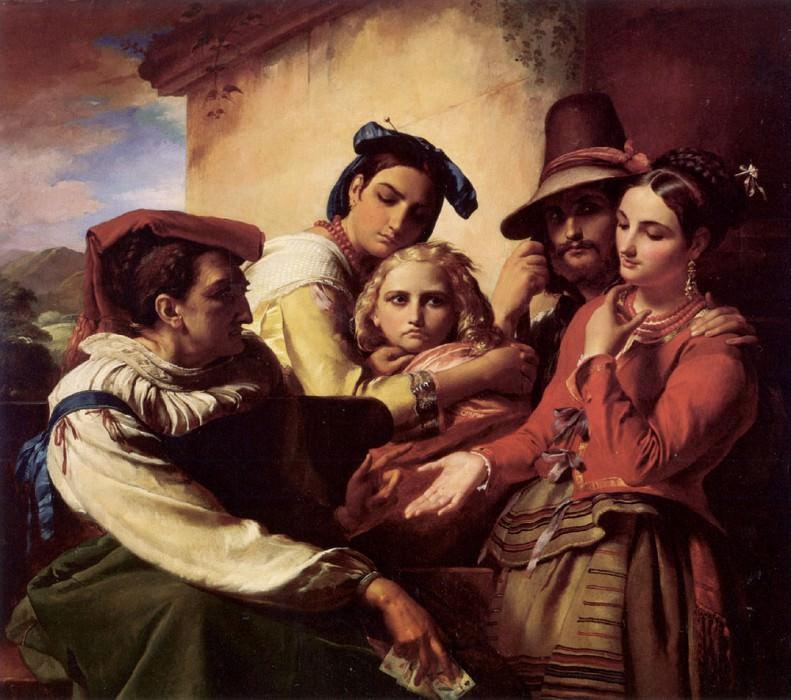The Fortune Teller. Francois Joseph Navez