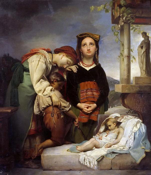 The Sick Child. Francois Joseph Navez