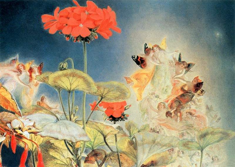 The Midsummer Fairies2. John George Naish
