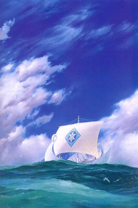 Earendil the Mariner. Ted Nasmith