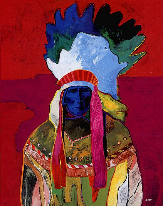 Geronimo Apache. John Santana Nieto