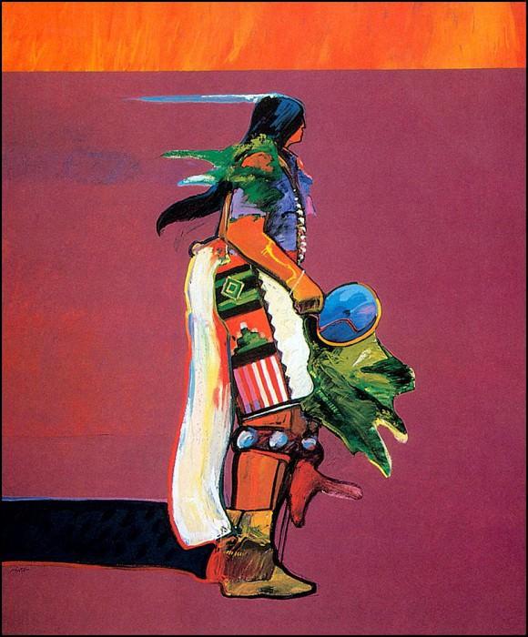 The Corn Dancer. John Santana Nieto