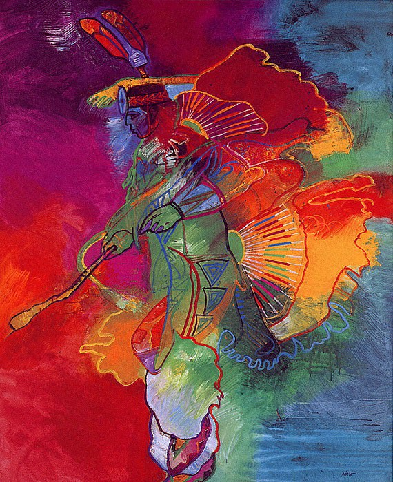 War Dancer. John Santana Nieto