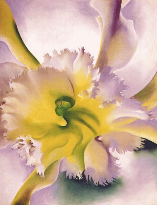 Орхидея, 1941. Джорджия ОКиф