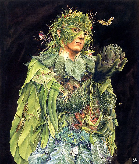 The Green Man. Kathleen O'Connell