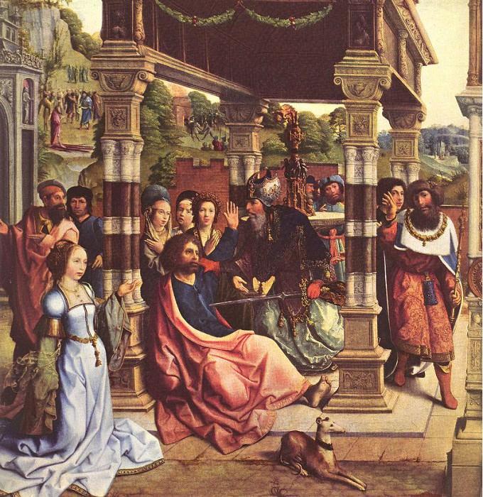 Altarpiece Of Sts Thomas And Matthais. Bernaert Van Orley