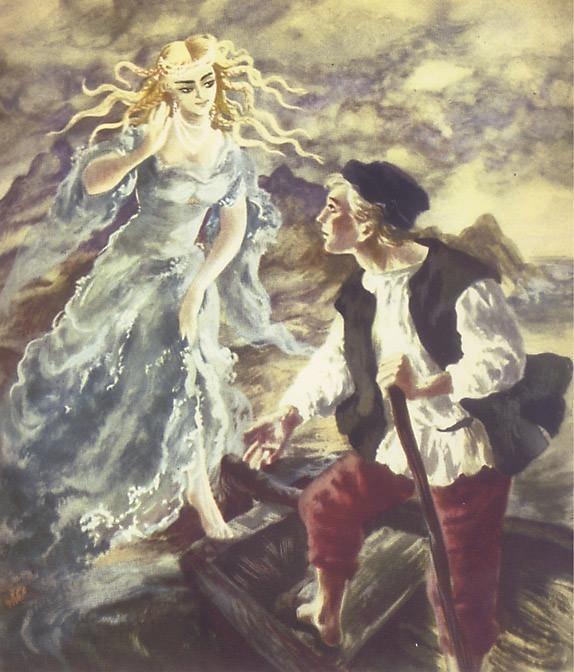 am chapter27b fisherman and mermaid. Maria Orlowska