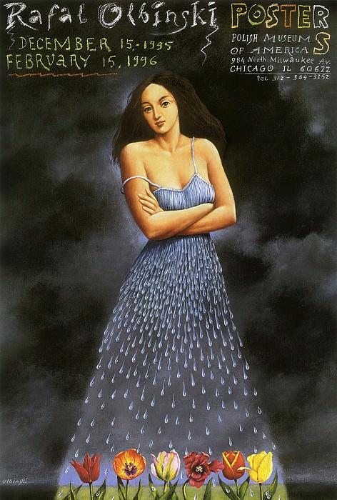 am-Rafal Olbinski Artists Poster Exhibition. Рафал Ольбиньский