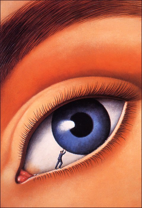 Friendly Persuasion. Rafal Olbinski