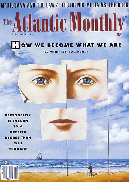 The Atlantic Monthly Sep 1994. Rafal Olbinski