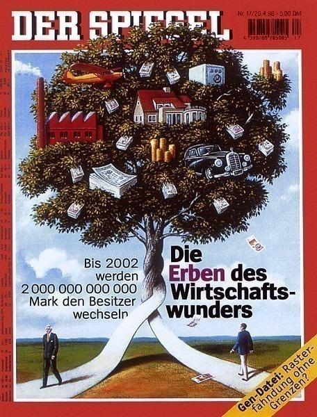 am-Rafal Olbinski Der Spiegel Apr 1998. Rafal Olbinski