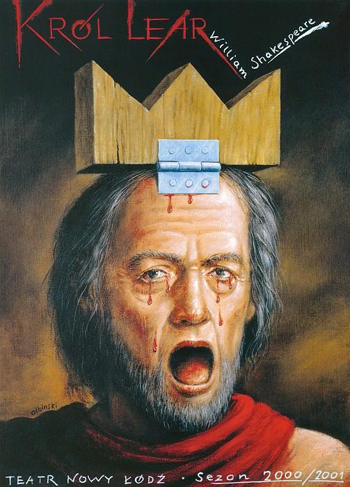 King Lear. Rafal Olbinski