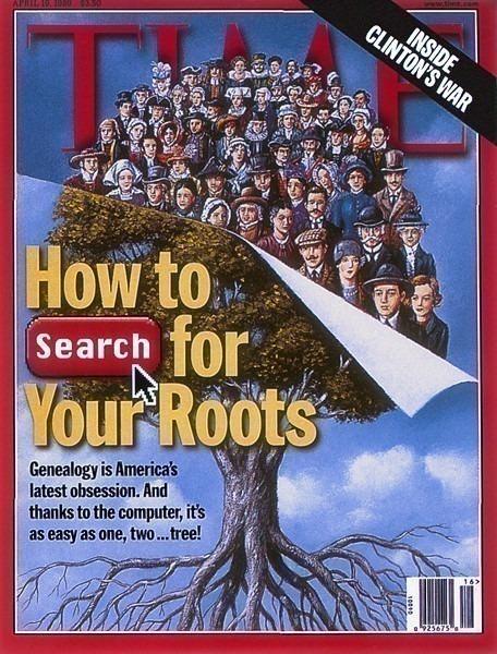 Обложка журнала, апрель 1999 г.. Рафал Ольбиньский