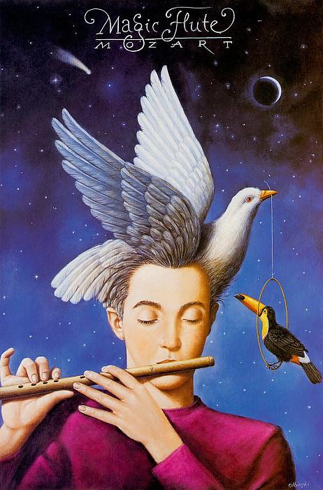 Волшебная флейта, опера Моцарта. Рафал Ольбиньский