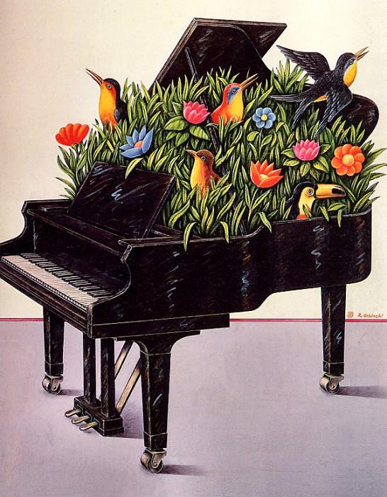 Rafal Olbinski - Summer Music, De. Rafal Olbinski