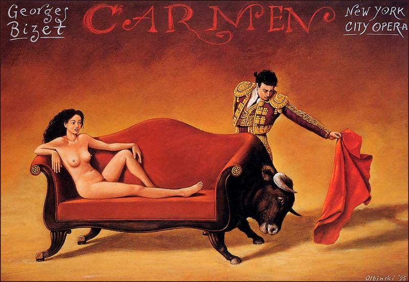 Carmen. Rafal Olbinski