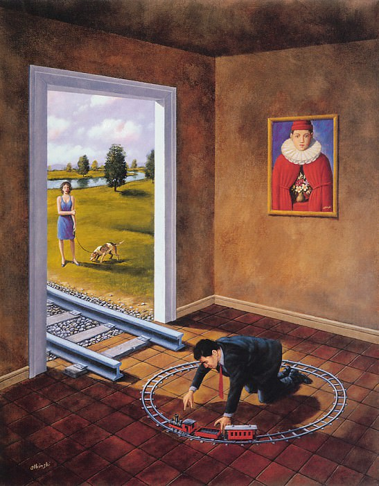 Hierarchy of appearances. Rafal Olbinski