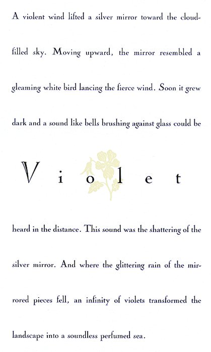 Violet by John Gruen. Рафал Ольбиньский