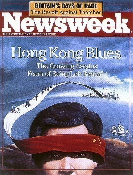 Newsweek Apr 1990. Rafal Olbinski