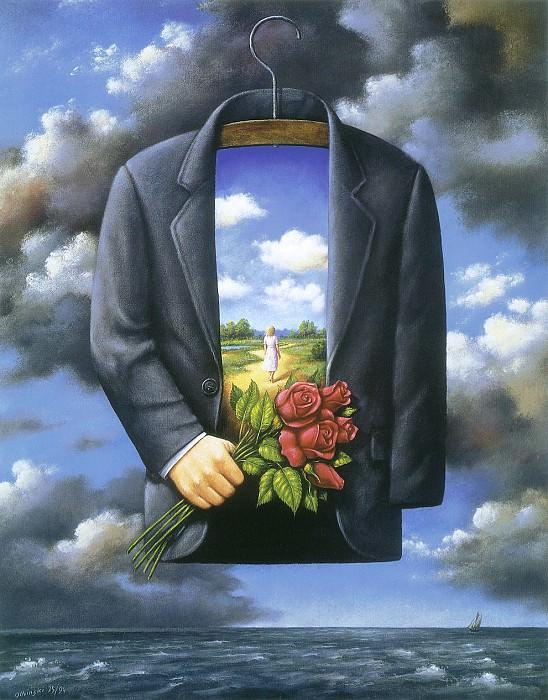 Выставка картин художника. Рафал Ольбиньский