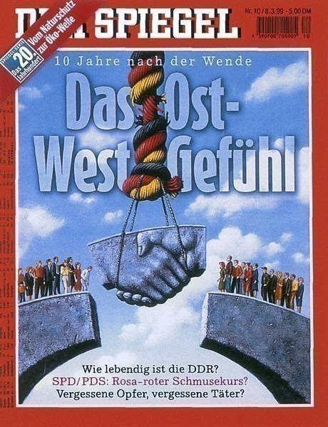 Der Spiegel Mar 1999. Rafal Olbinski