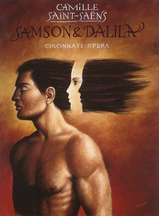 Самсон и Далила, опера Сен-Санса. Рафал Ольбиньский