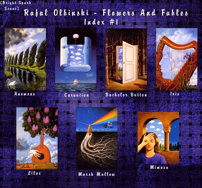 !bs-RafalOlbinski-FlowersAndFables-01-Index. Rafal Olbinski