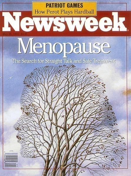 Обложка журнала -Ньюзвик-, май 1992 г.. Рафал Ольбиньский