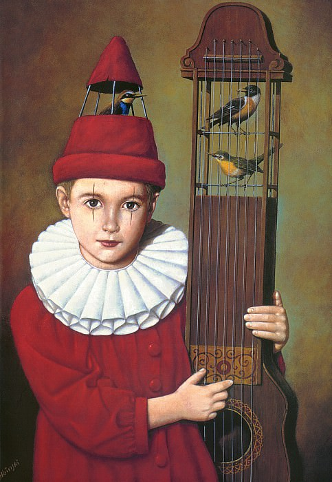 Exhibition(cover). Rafal Olbinski