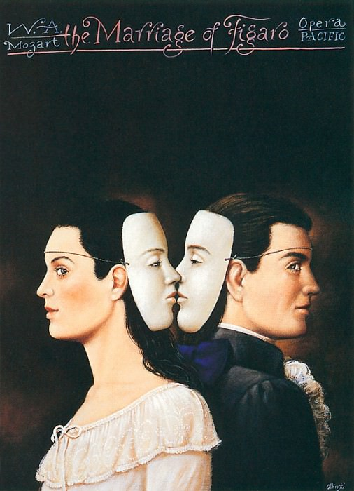 The Marriage of Figaro. Rafal Olbinski