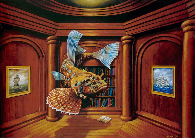 Suppression of appearances. Rafal Olbinski