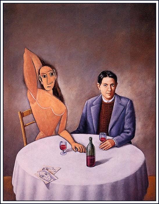 Picasso. Rafal Olbinski
