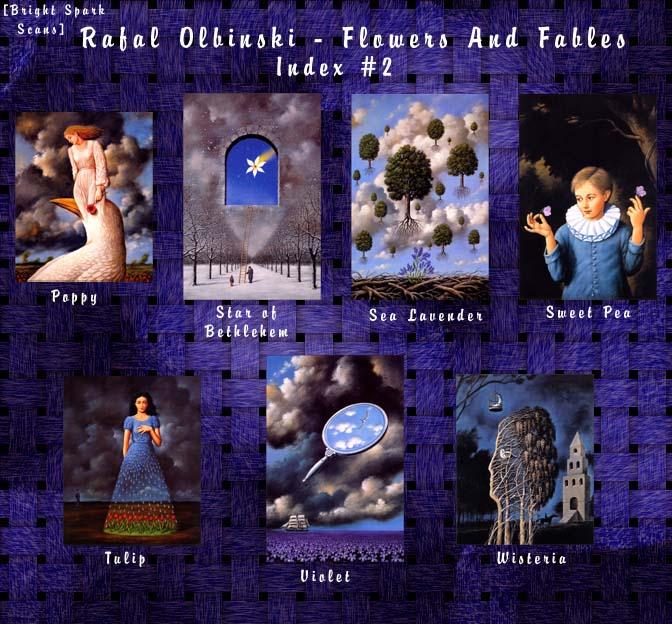 !bs-RafalOlbinski-FlowersAndFables-02-Index. Рафал Ольбиньский