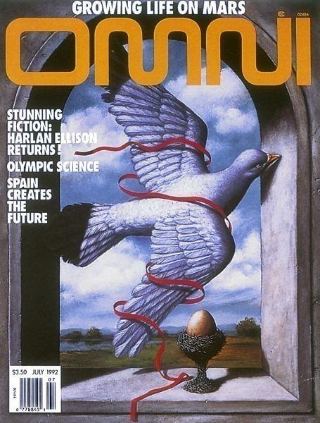 Обложка журнала, июль 1992 г.. Рафал Ольбиньский