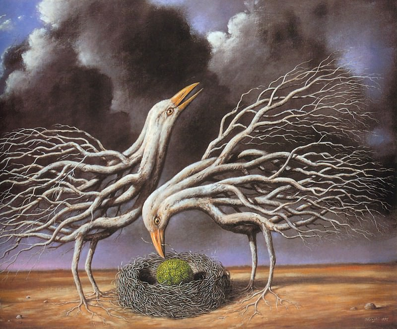 Occasional loss of identity. Rafal Olbinski