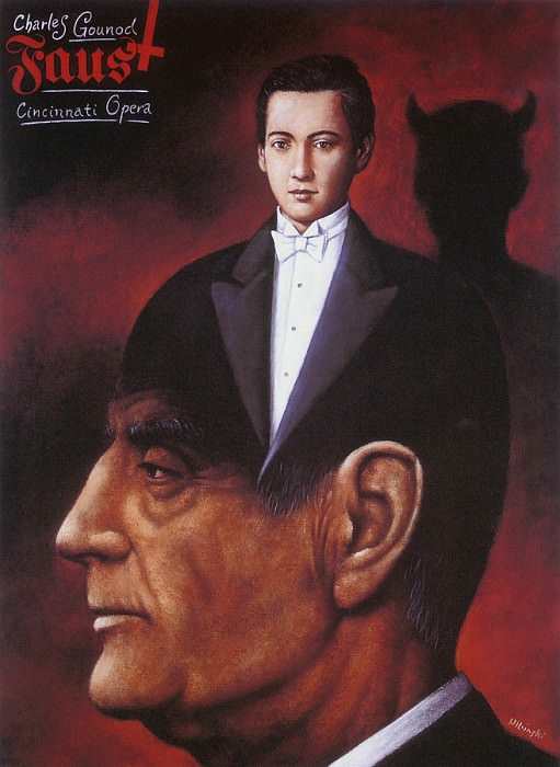 Фауст, опера Шарля Гуно. Рафал Ольбиньский