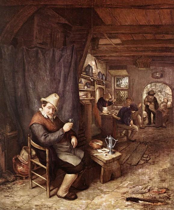 The Drinker. Adriaen Van Ostade